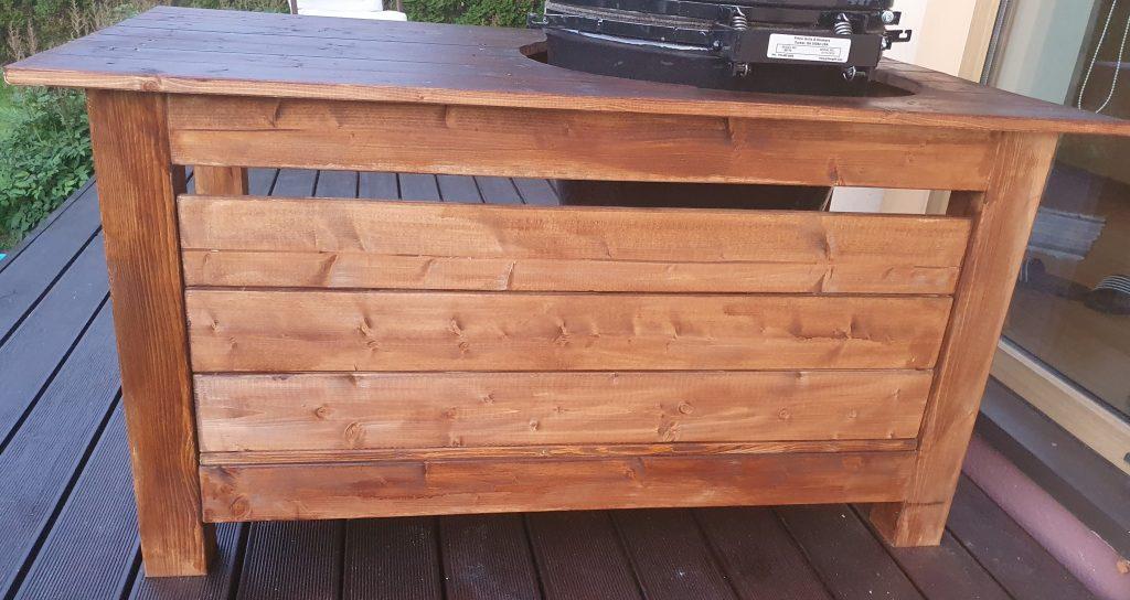 kamado grill table